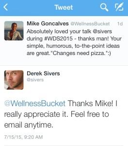 Derek Tweet